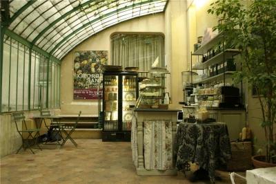 Salon de th du mus e de la vie romantique d esse d chue - Jardin du musee de la vie romantique ...